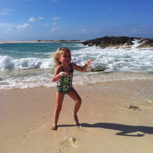 The ocean and pure joy!